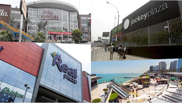Conversamos con los representantes de los principales centros comerciales sobre el reinicio de sus actividades. (Fotos: GEC/ Archivo)