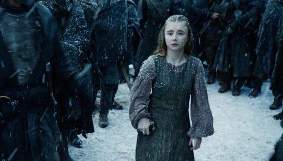 La joven actriz Kerry Ingram encarnó a Shireen Baratheon en 'Game of Thrones' (HBO)