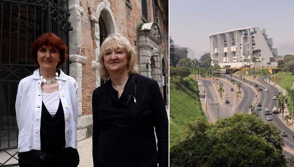 Es la primera vez que el Pritzker es otorgado a un dúo de mujeres.(Foto: AFP)