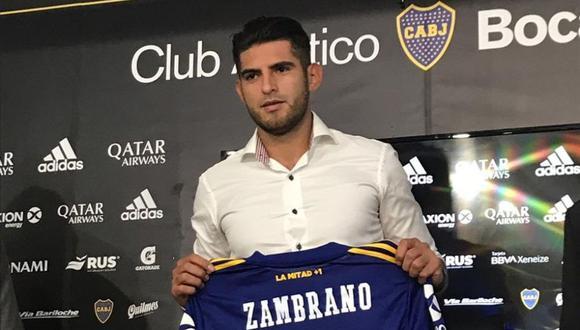 Carlos Zambrano usará el dorsal '5' en Boca Juniors. (Foto: Sector Bostero)