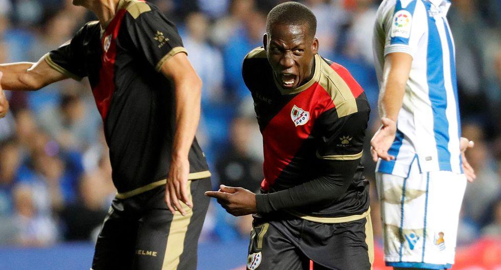 Luis Advíncula disputó 29 partidos con Rayo Vallecano y anotó un gol. (Foto. EFE)