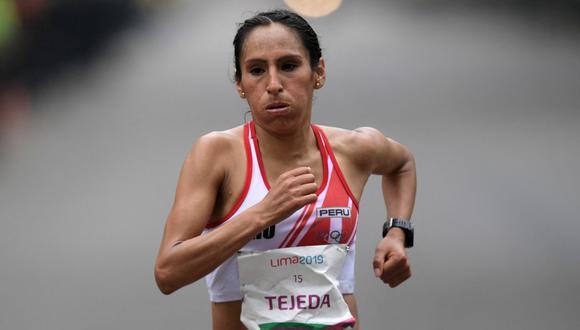 .Gladys Tejeda llegó a Tokio en busca de una medalla en los Juegos Olímpicos. (Foto: AFP)