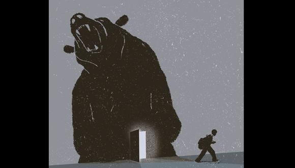 """""""Contra la matonería"""", por Pedro Suárez-Vértiz. (Ilustración: Nadia Santos)"""