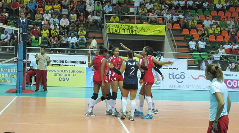 Vóley:así jugó Perú para vencer a Chile en Sudamericano Juvenil - 11
