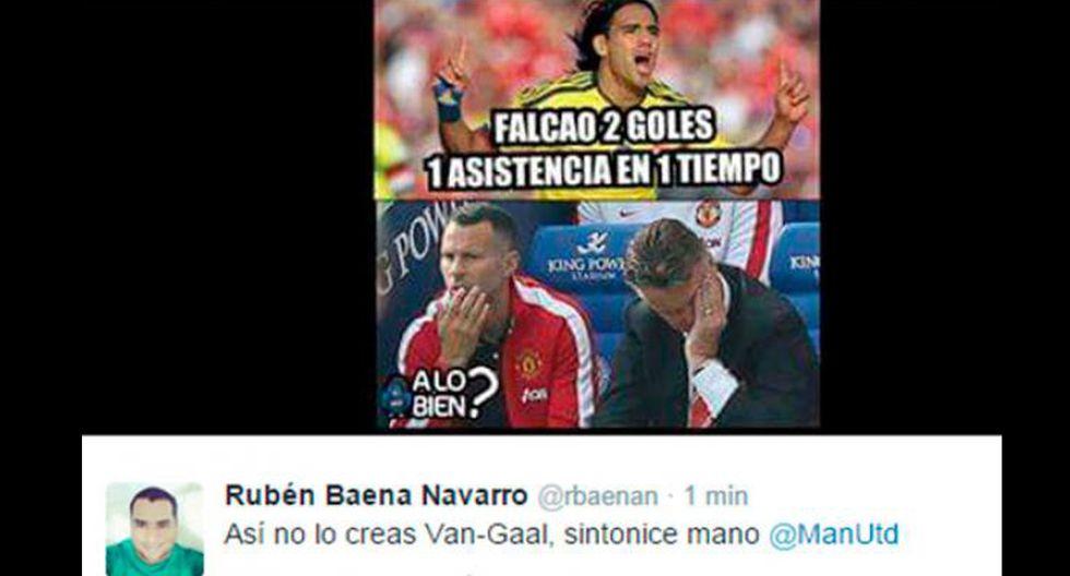 Van Gaal y los memes tras los dos goles de Falcao con Colombia - 22