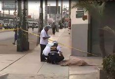 SJM: matan a hombre por resistirse a un asalto en Av. Los Héroes   VIDEO