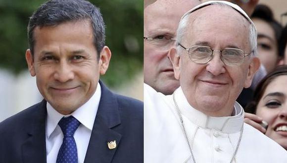 Ollanta Humala se reunirá con el Papa el 14 de noviembre
