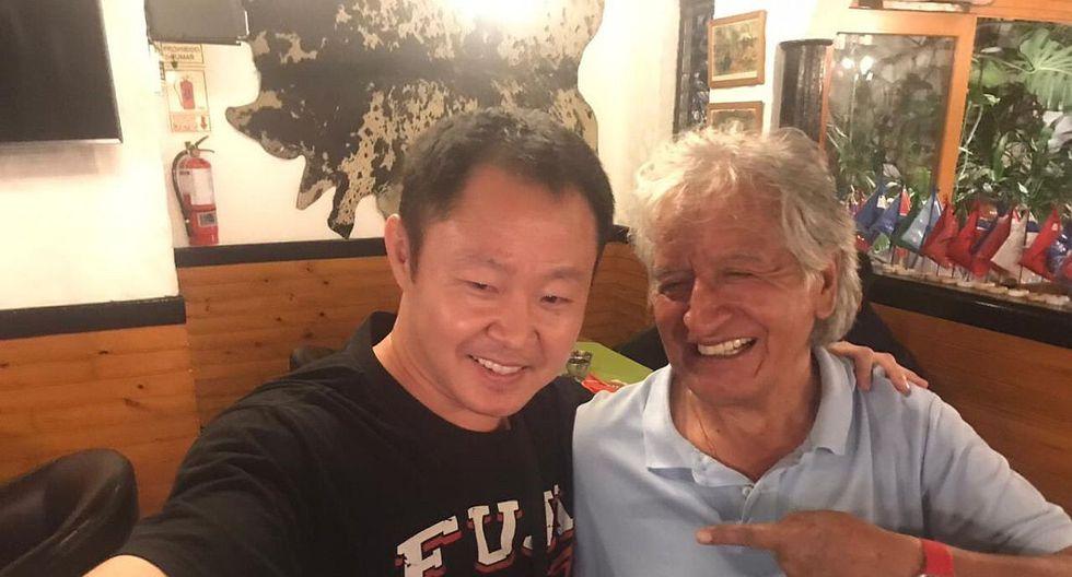 Virgilio Acuña y Kenji Fujimori compartieron a través de Twitter una fotografía juntos. (Twitter)