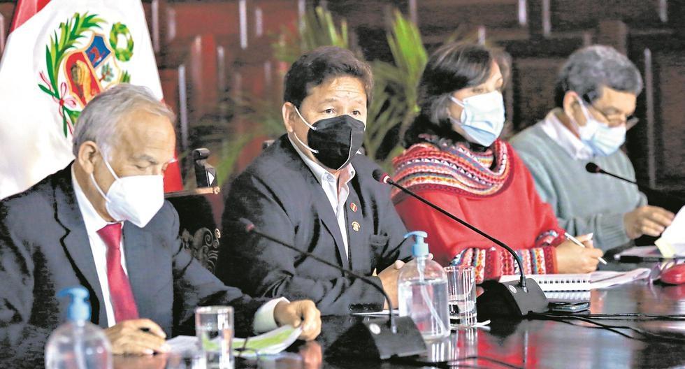 El rostro antidemocrático. El premier Bellido provoca al Congreso para defender al ministro de Trabajo y nos deja una nueva crisis. (Foto: Presidencia)