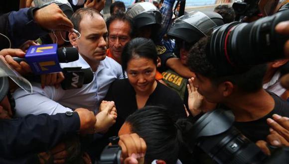 Keiko Fujimori volverá a cumplir una orden de prisión preventiva en su contra, esta vez por 15 meses (Foto: Hugo Curotto/ GEC)