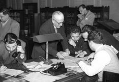 Sin Internet ni conteo rápido y todo con teléfono fijo: así fueron las elecciones presidenciales en 1956