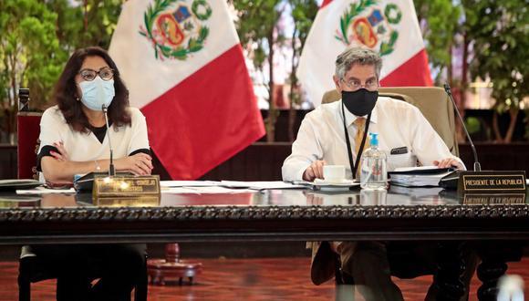 Ministros de Estado brindarán detalles sobre la lucha contra la pandemia. (Foto: Presidencia)