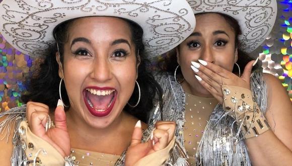 """""""Double Dragon Twins"""", las gemelas peruanas que conquistaron Estados Unidos con su increíble voz. (Fotos: IG/ @agt)"""