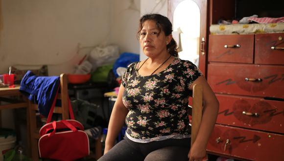 Rayda pide que el Estado que no la deje sola con la enfermedad de su hijo (Foto: Jessica Vicente).