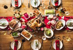 ¿Cómo distribuir una cena navideña balanceada en calorías?