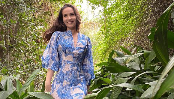 Natalia Oreiro es imagen de la nueva colección Conscious Exclusive con materiales de origen sostenible y textiles reciclados. (Foto: H&M)