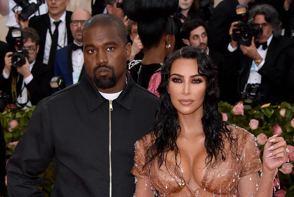 Kim Kardashian no pudo ocultar la emoción que siente al hablar de su segundo hijo junto a Kanye West: el pequeño Saint West. (Foto: Getty Images)