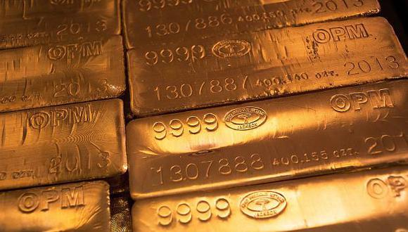 El oro registra un avance de 0.6% en la semana. (Foto: Reuters)