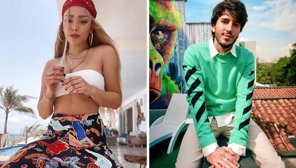 Danna Paola se cansó de ser vinculada a Sebastián Yatra y reveló que sale con otra persona. (Instagram: @dannapaola / @sebastianyatra).