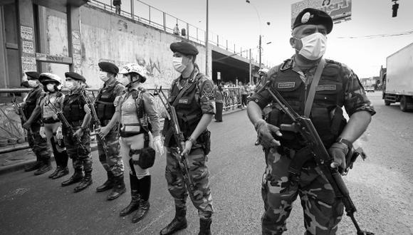 Norma que modifica criterios sobre la función policial fue aprobado en el Congreso pasado. (Foto: GEC)