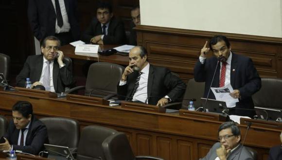 El pleno reanudó el debate sobre el informe final Lava Jato tras incidentes en la víspera. (Foto: Anthony Niño de Guzmán)