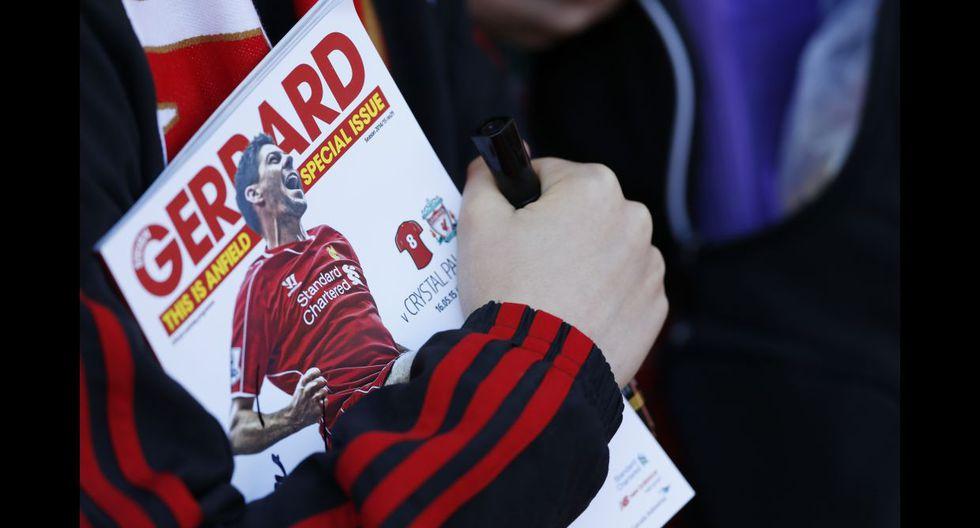 Steven Gerrard y su emotiva despedida del Anfield Road (FOTOS) - 18