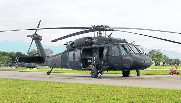 El aparato tipo Black Hawk, con 17 uniformados dentro, se precipitó a tierra en una zona selvática del sureste del país. (Foto: Fernando Ariza. Archivo EL TIEMPO de Colombia, GDA).