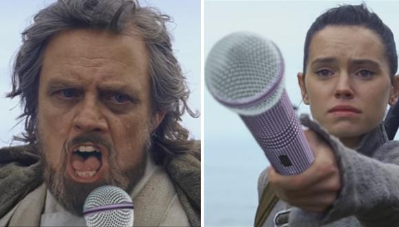 Luke Skywalker canta sobre su soledad en un divertido video