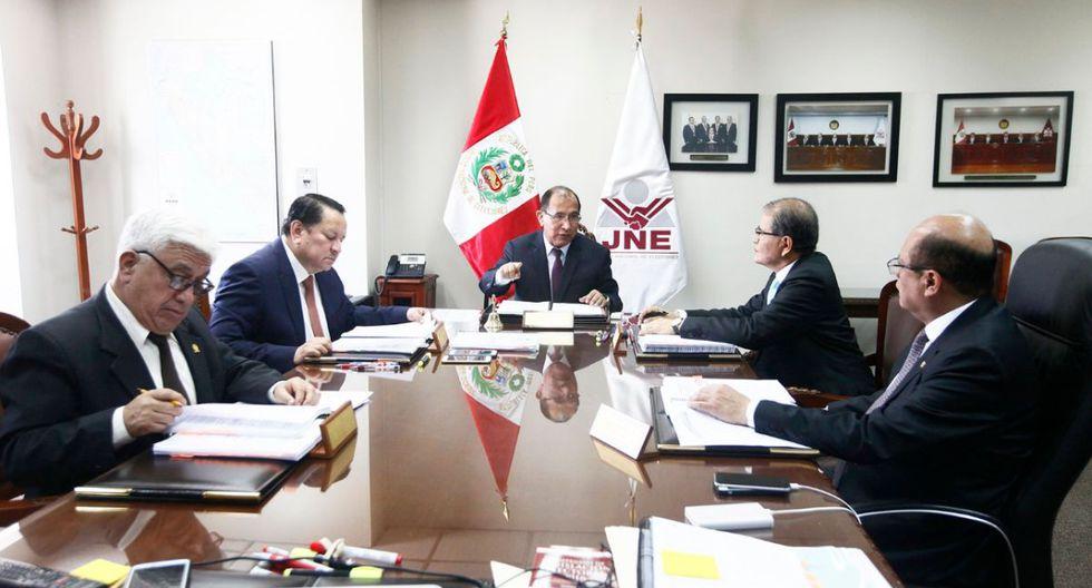 El JNE evaluará el pedido de un jurado electoral especial sobre la candidatura de excongresistas para el 2020. (Foto: JNE)