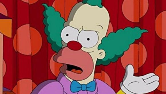 Krusty the Clown es el hijo de un rabino que no aprobó su elección de carrera (Foto: Fox)