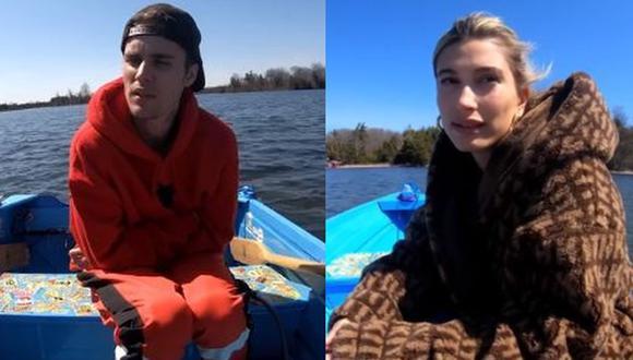 """Justin Bieber y Hailey Baldwin estrenan un """"reality show"""" en Facebook. (Foto: Captura de video)"""