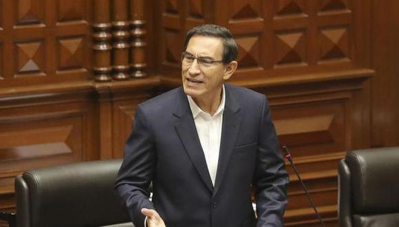 """""""Los grandes desafíos del Perú nos exigen actuar con sensatez y responsabilidad"""", señaló el mandatario. (Foto: Presidencia)"""