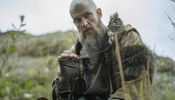 Floki era un astuto constructor, devoto pagano y leal compañero de Ragnar y su tripulación (Foto: History Channel)