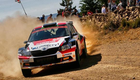 WRC: Nicolás Fuchs se ubica en cuarto lugar del Rally Italia