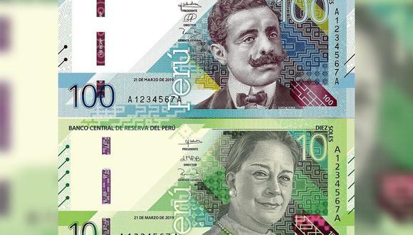 El BCR señaló que los nuevos billetes de S/ 10 y S/ 100 fueron diseñados por la empresa inglesa De La Rue International Limited. (Fotos: BCR)