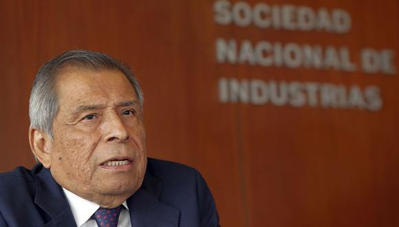 El presidente de la SNI, Ricardo Márquez. (Foto: GEC)