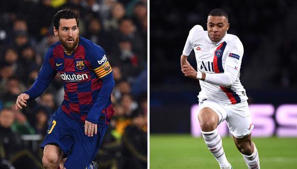 Messi enfrentará al PSG de Kylian Mbappé y buscará remontar la serie a favor del Barcelona   Foto: AFP