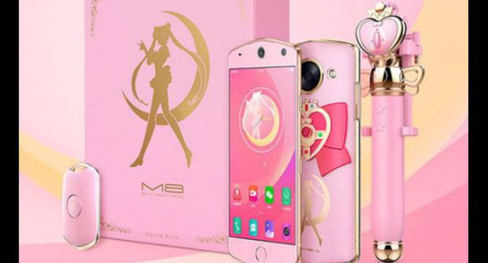 Empresa china crea smartphone inspirado en Sailor Moon