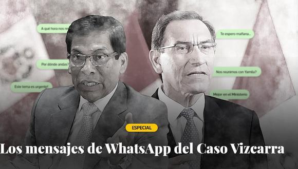 El Comercio accedió a los chats registrados entre José Hernández y Martín Vizcarra.