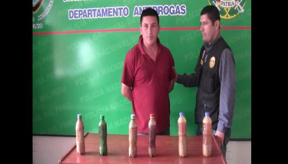 Jaén: hallan látex de opio en casa de ex teniente gobernador