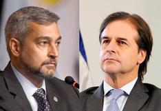El tenso cruce de los presidentes de Uruguay y Paraguay con Maduro en la cumbre de la Celac | VIDEO