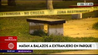 SMP: hombre fue asesinado cuando bebía en un parque