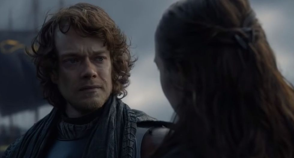 Theon Greyjoy tomó valor, rescató a su hermana y regresará a pelear con Jon Snow. (Foto: Captura de video)