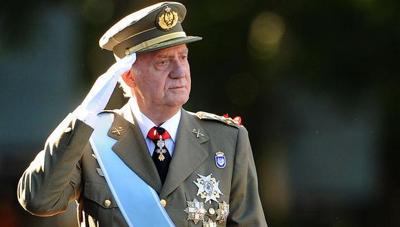Juan Carlos, el rey emérito de España, se fue del país mientras continúan las investigaciones sobre supuestos desvíos de dinero. (AFP)