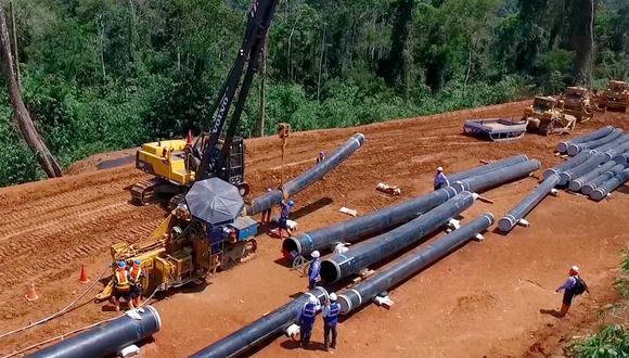 La construcción del tramo que llega al Nodo Energético del Sur evitará incrementos en tarifas eléctricas. (Foto: Difusión)