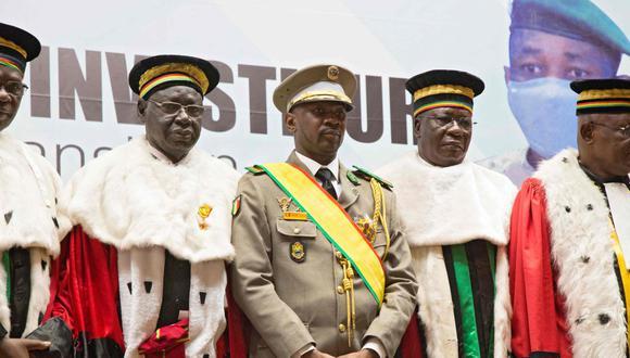 El 29 de mayo la Corte Constitucional designó al coronel Assimi Goita como presidente de transición de Mali y una semana después fue investido en el cargo. (Foto: Annie Risemberg / AFP).