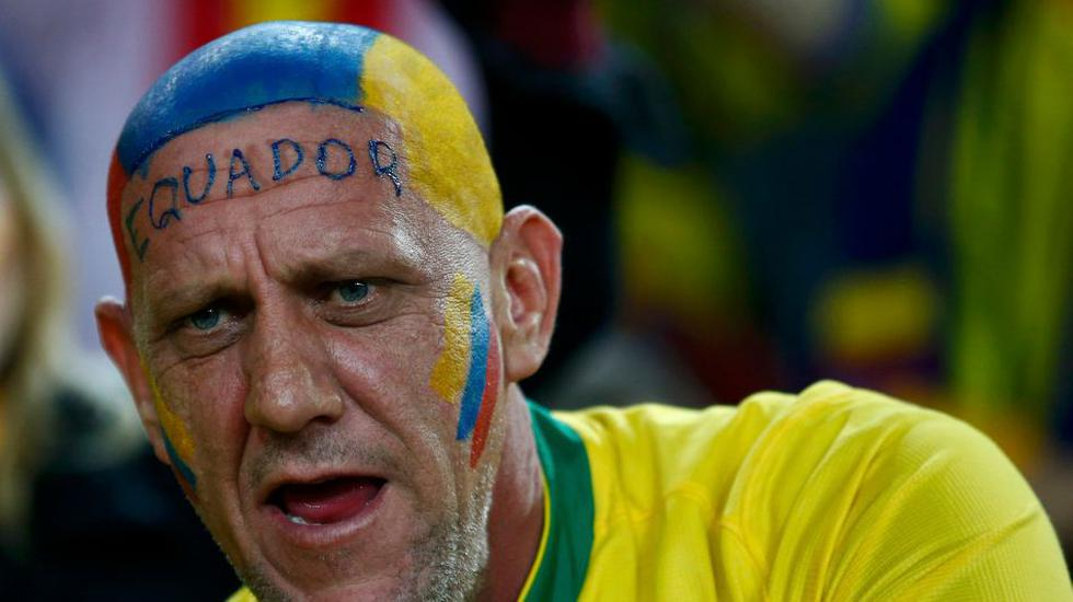Honduras vs. Ecuador: color, belleza y alegría en el estadio - 14