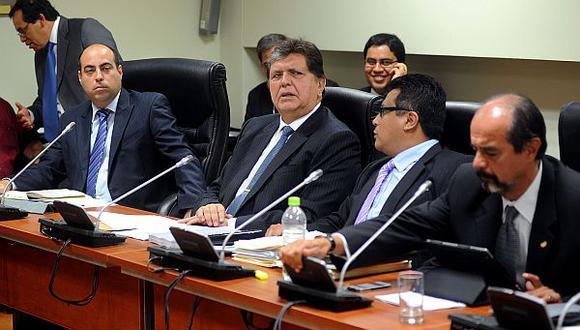 La mayoría de informes de la megacomisión recomienda la acusación constitucional contra García. (Foto: Congreso)