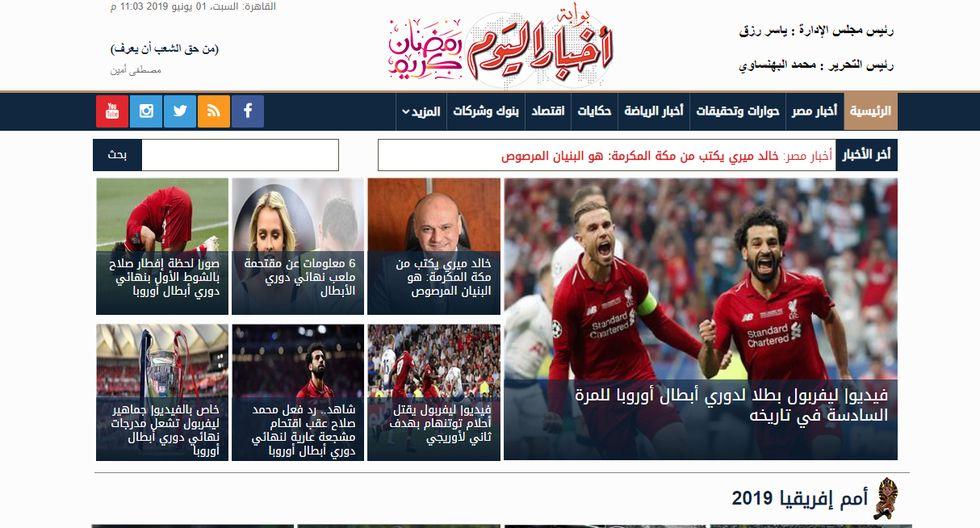 Mira cómo informaron los medios del mundo el título de Liverpool en la Champions League. (Captura)