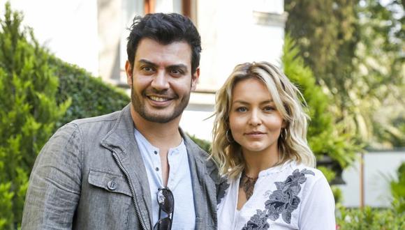 """Angelique Boyer y Andrés Palacios retomaron las grabaciones de """"Imperio de mentiras"""" (Foto: Televisa)"""